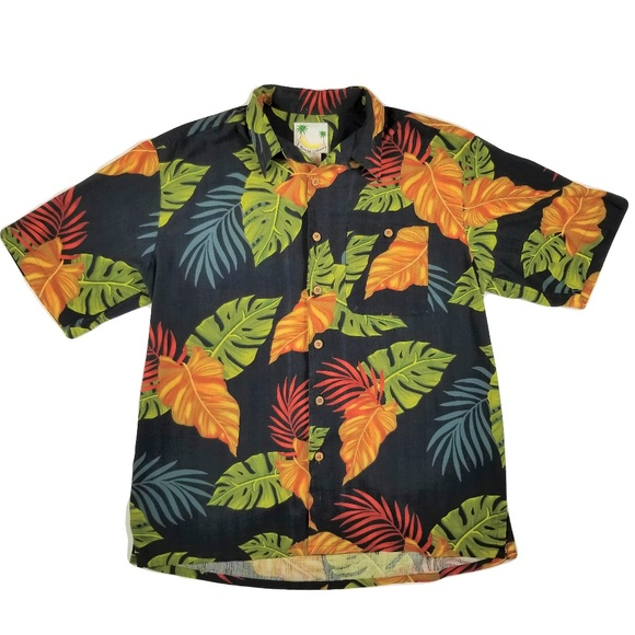 42f5400f Banana Cabana Other - Banana Cabana Men's LARGE Hawaiian Shirt